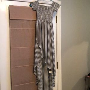 WILLA MAXI DRESS ~ SHOREBERT STRIPE